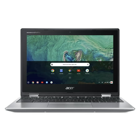 Acer Chromebook Spin 11 CP311-1H-C1FS Convertible Laptop, Celeron N3350, 11.6u0022 HD Touch, 4GB DDR4, 32GB eMMC