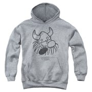 Hagar The Horrible Hagar Head Big Boys Pullover Hoodie