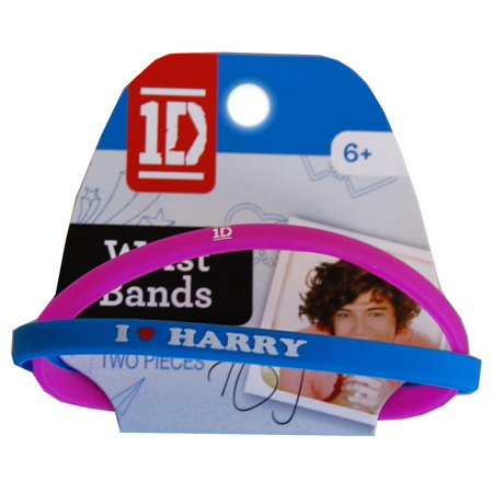 One Direction Wristband - 1D One Direction Wrist Band 2-Pack: Harry