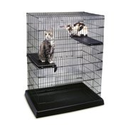 Petmate Small Animal Pen with Plastic Tray and Perch