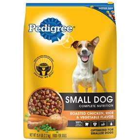 Pedigree SMALL DOG Complete Nutrition Roasted Chicken, Ri...