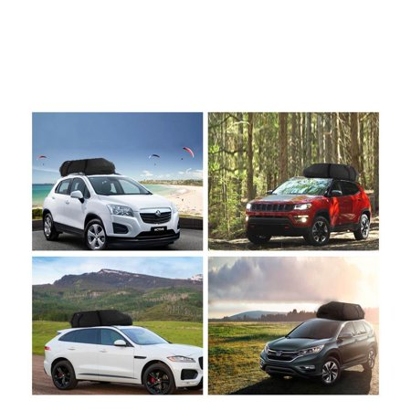 Durable coocheer car vehicles waterproof roof top cargo carrier durable coocheer car vehicles waterproof roof top cargo carrier 51x39x17inchlxwxhluggage travel storage fandeluxe
