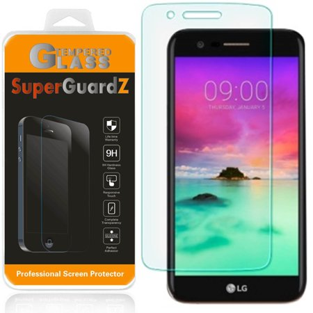 [3-Pack] For LG Stylus 3 / LG Stylo 3 / LG K10 Pro - SuperGuardZ Tempered Glass Screen Protector, 9H, Anti-Scratch, Anti-Bubble, Anti-Fingerprint - Prom Glasses