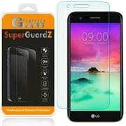 [3-Pack] For LG Stylus 3 / LG Stylo 3 / LG K10 Pro - SuperGuardZ Tempered Glass Screen Protector, 9H, Anti-Scratch, Anti-Bubble, Anti-Fingerprint