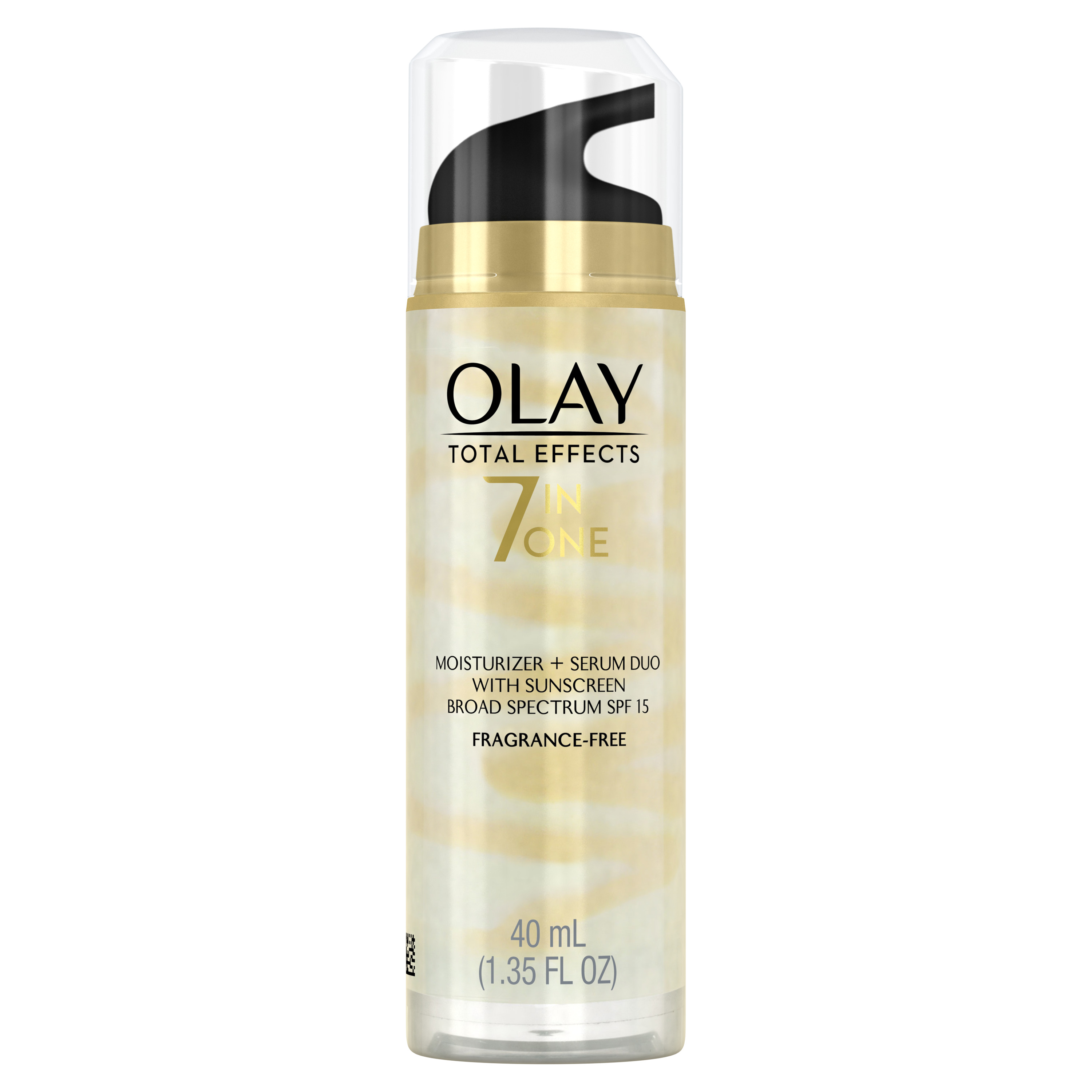 Olay Total Effects Face Moisturizer + Serum Duo SPF 15, 1.35 fl oz