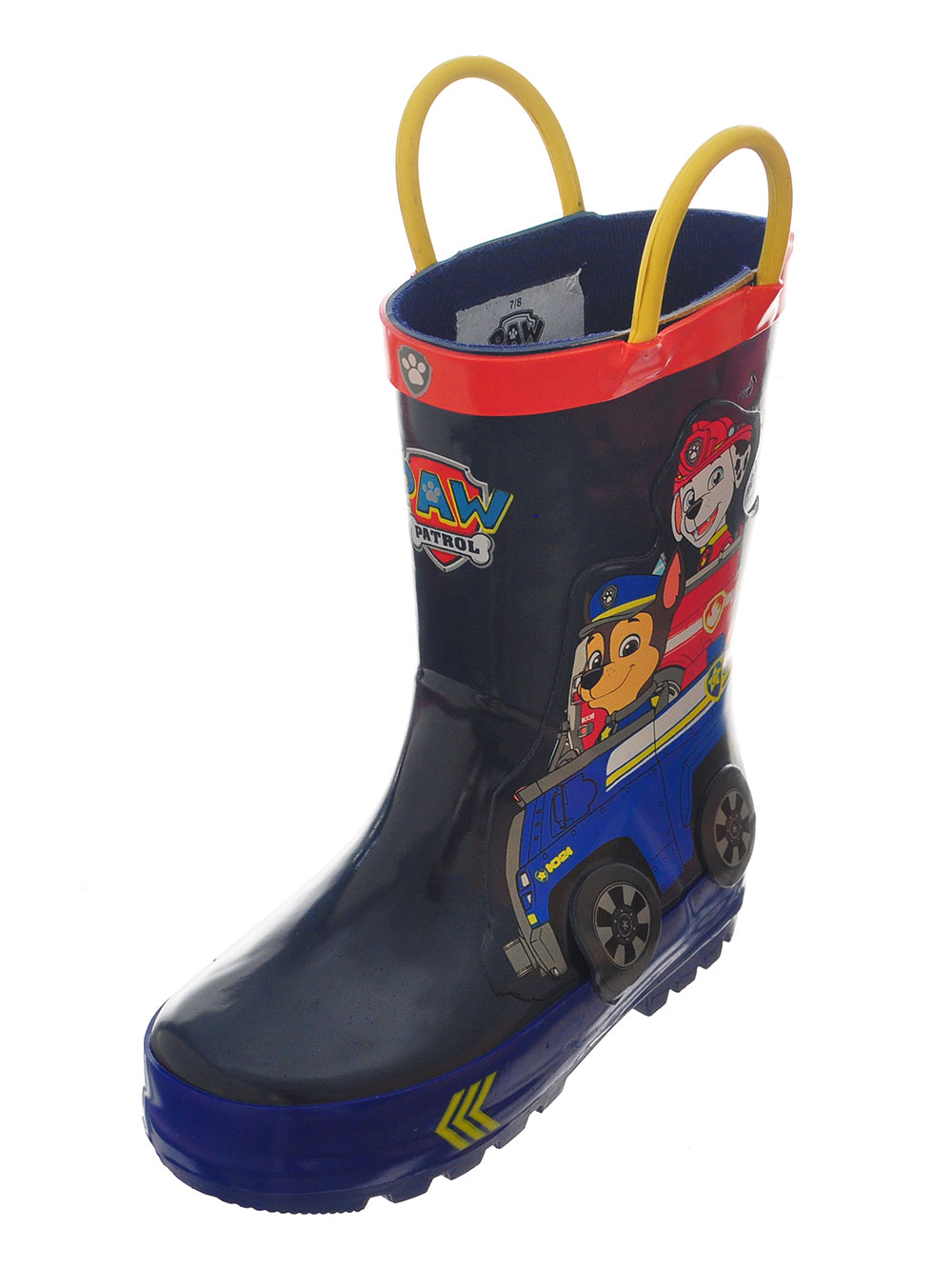 Paw Patrol Boys' Rain Boots (Sizes 7 - 12)