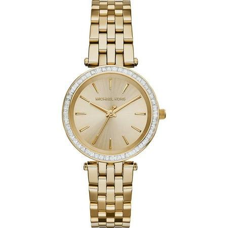 Michael Kors Women's Mini Darci Gold-Tone Stainless Steel Watch MK3365 ()