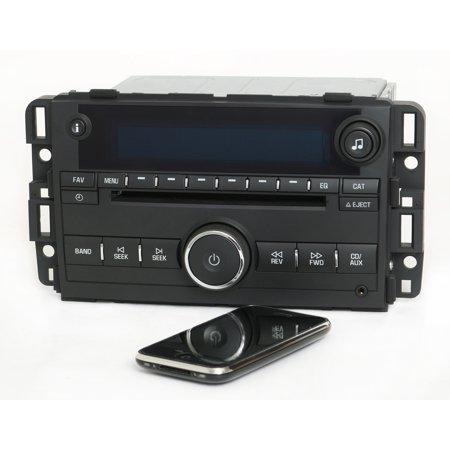 Chevy Impala 2011 2012 Radio Am Fm Mp3 Cd Player W Bluetooth Music   Pn 20955156   Refurbished