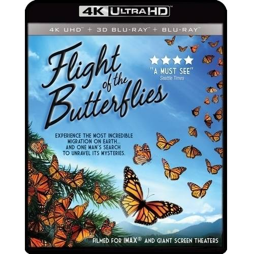 IMAX: Flight Of The Butterflies (4K UltraHD + 3D Blu-ray + Blu-ray) by Gaiam Americas