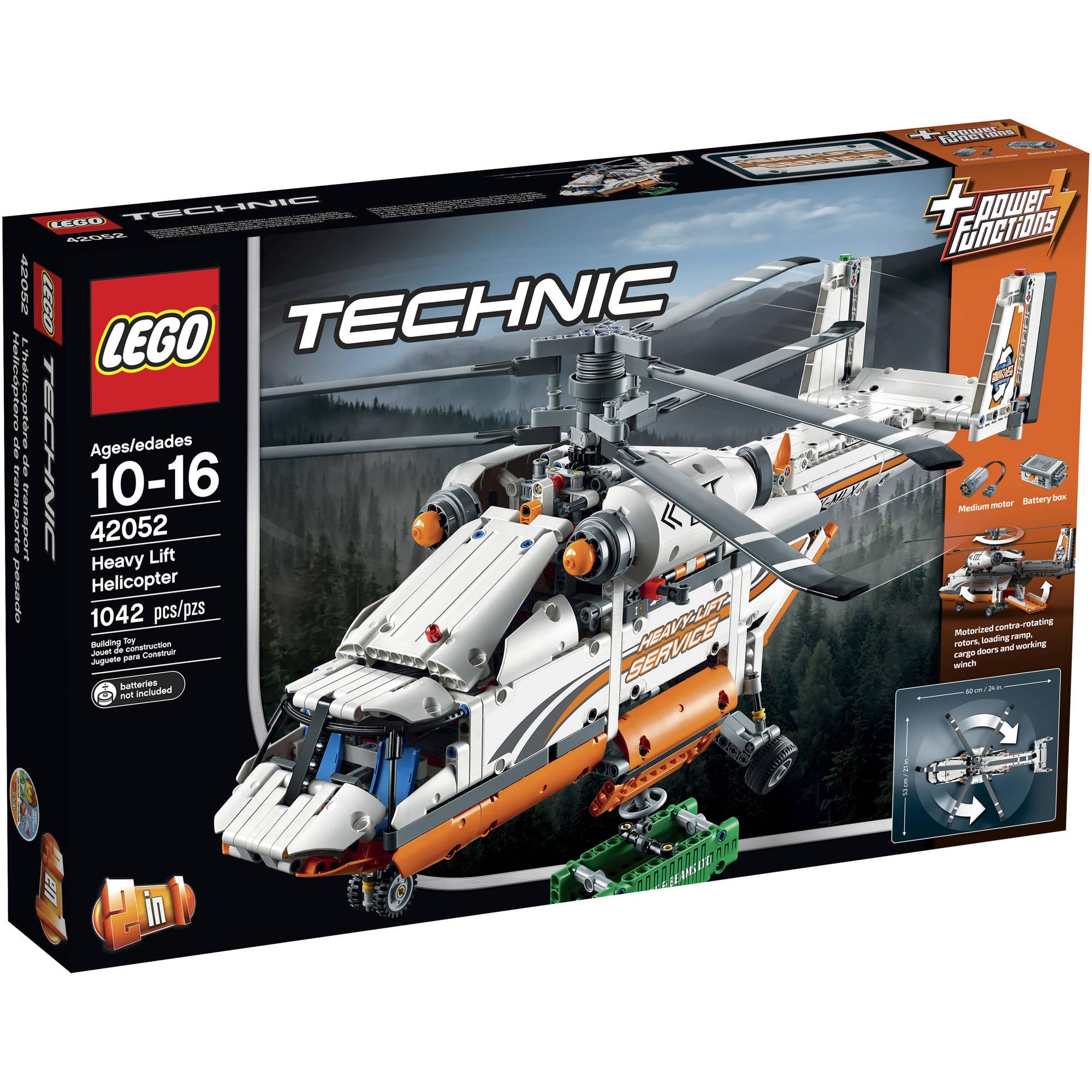 LEGO Technic Heavy Lift Helicopter, 42052