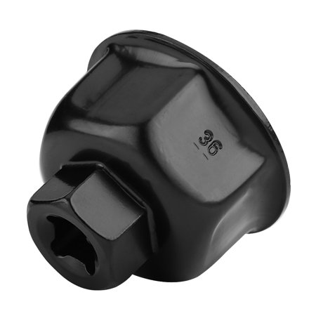36mm 3/8  Car Oil Filter Wrench Cap Socket Drive Remover Tool for BMW X5 Audi A6L A8L,Oil Filter Wrench, Oil Filter Remover