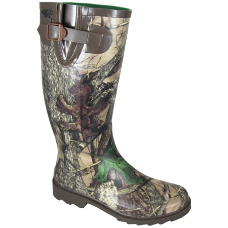 6d361a920e52e Smoky Mountain Women's Camo Stalker Rubber Boot Camo Rubber Boots 6736