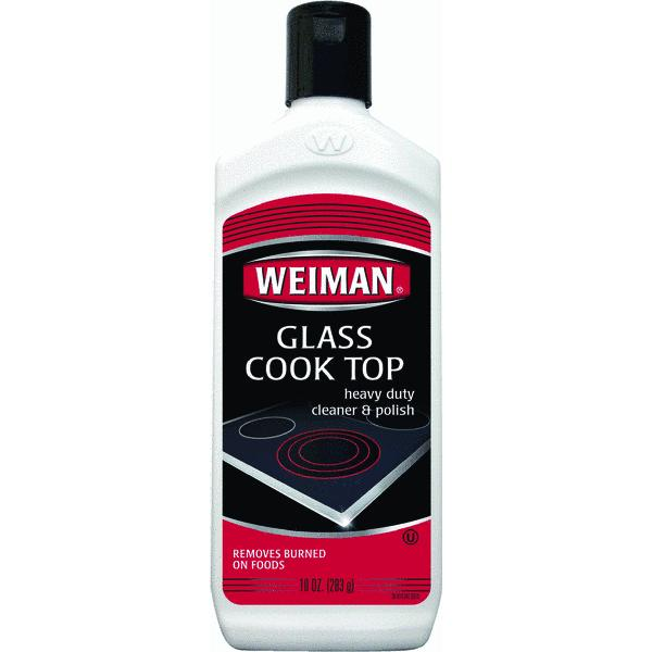 Weiman Glass Cook Top Heavy Duty Cleaner & Polish, 10 oz