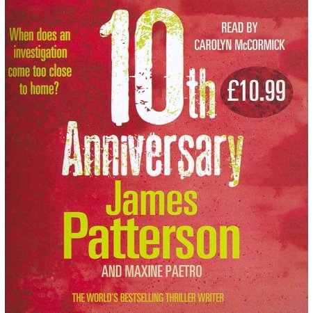 10th Anniversary: (Women's Murder Club 10) (Audio CD)
