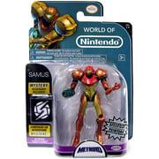 World of Nintendo Metroid Samus Action Figure [Metallic Paint]