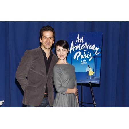Robert Fairchild Leanne Cope At A Public Appearance For Meet & Greet For An American In Paris On Broadway New 42Nd Street Studios New York Ny February 11 2015 Photo By Jason SmithEverett Collection