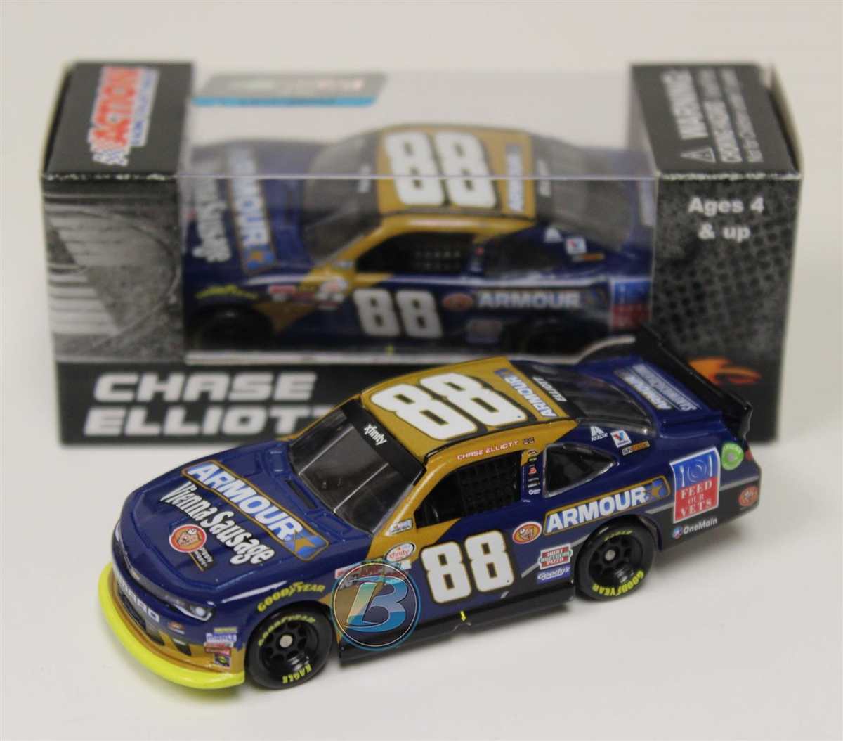 Chase Elliott 2016 Armour Foods 1:64 Nascar Diecast by Lionel Racing