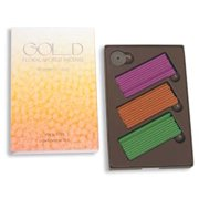Gold, Floral World Incense, From Shoyeido, Japanese Incense, 60 Sticks, 20 Each of Three Scents