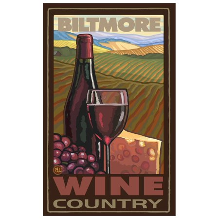 Biltmore Estate Asheville North Carolina Wine Country Giclee Art Print Poster by Paul A. Lanquist (12
