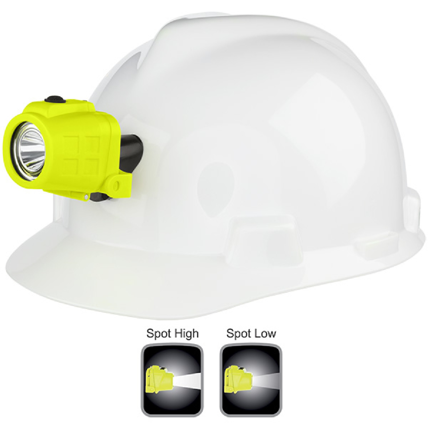 Nightstick XPP-5450GC Intrinsically Safe Headlamp w Hat Clip
