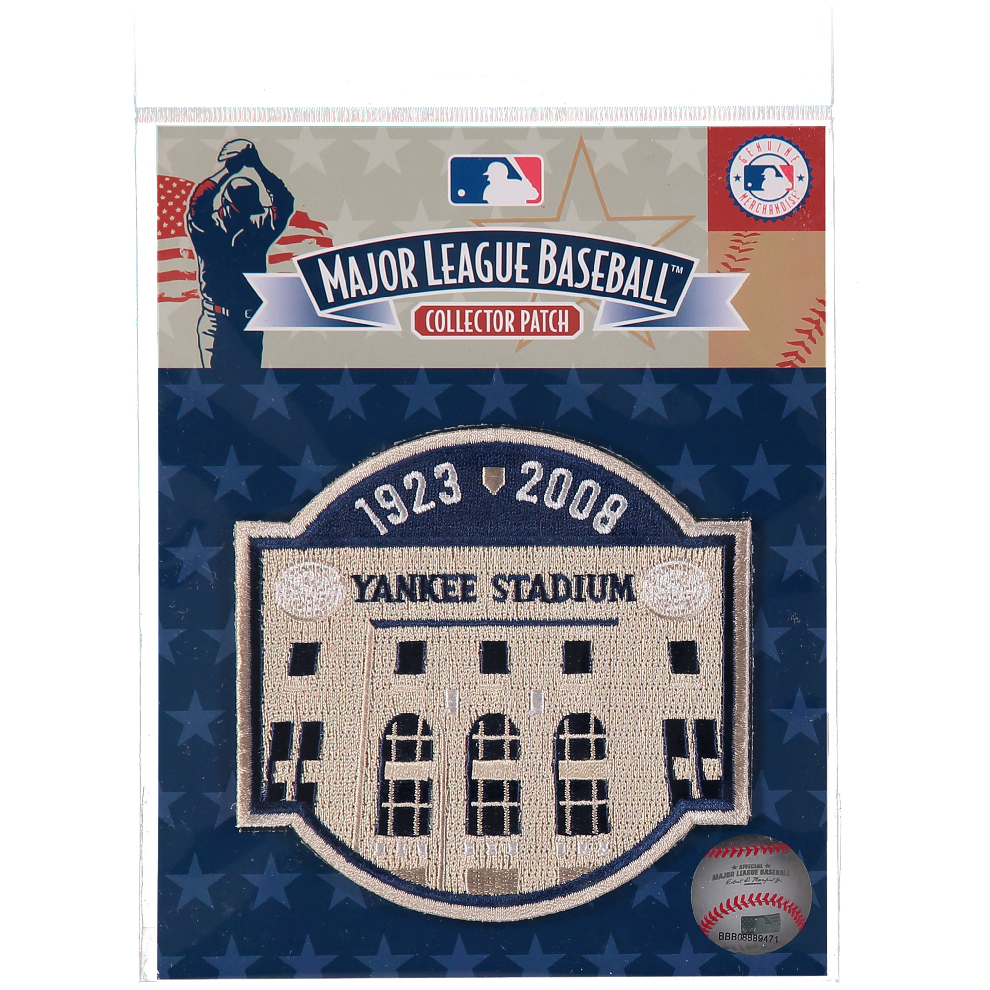 2008 New York Yankees Yankee Stadium Closing Patch