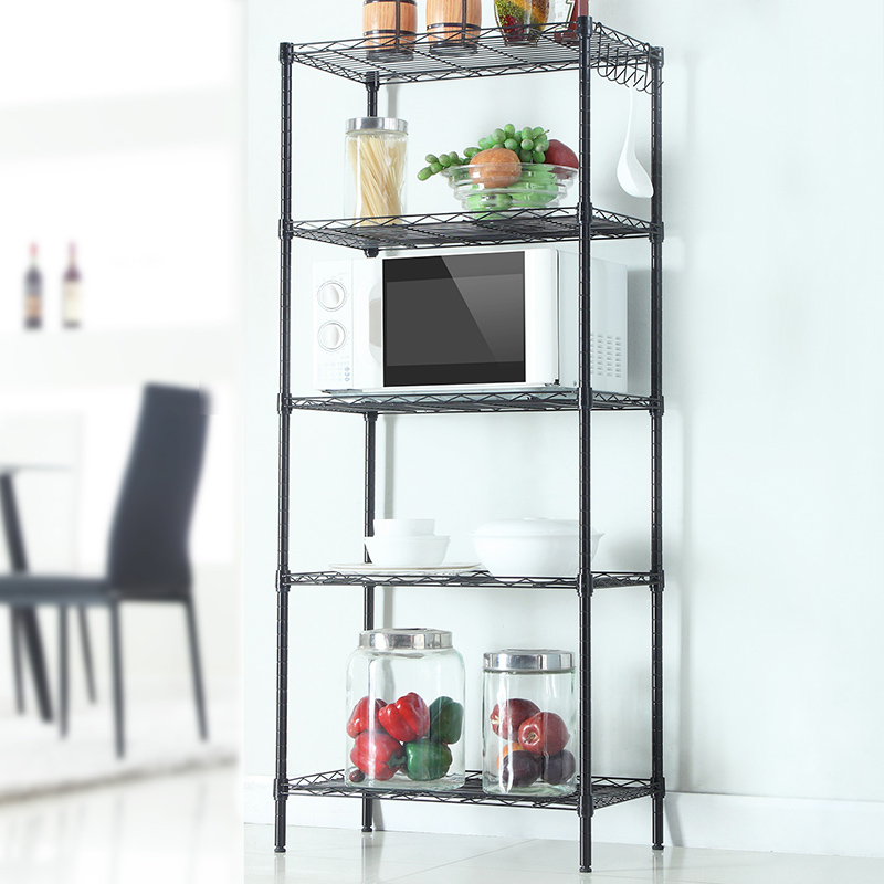 "Ktaxon Heavy Duty 5 Tier Layer 60""x24""x14"" Wire Shelving Rack Adjustable Shelf Storage"
