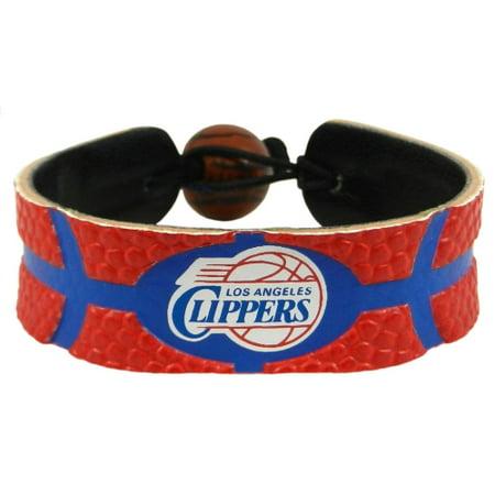 LA Clippers Women's Team Color Basketball Bracelet - No Size Basketball Gamewear Bracelet