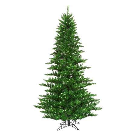 Vickerman Tinsel Green Fir Pre-lit Christmas Tree