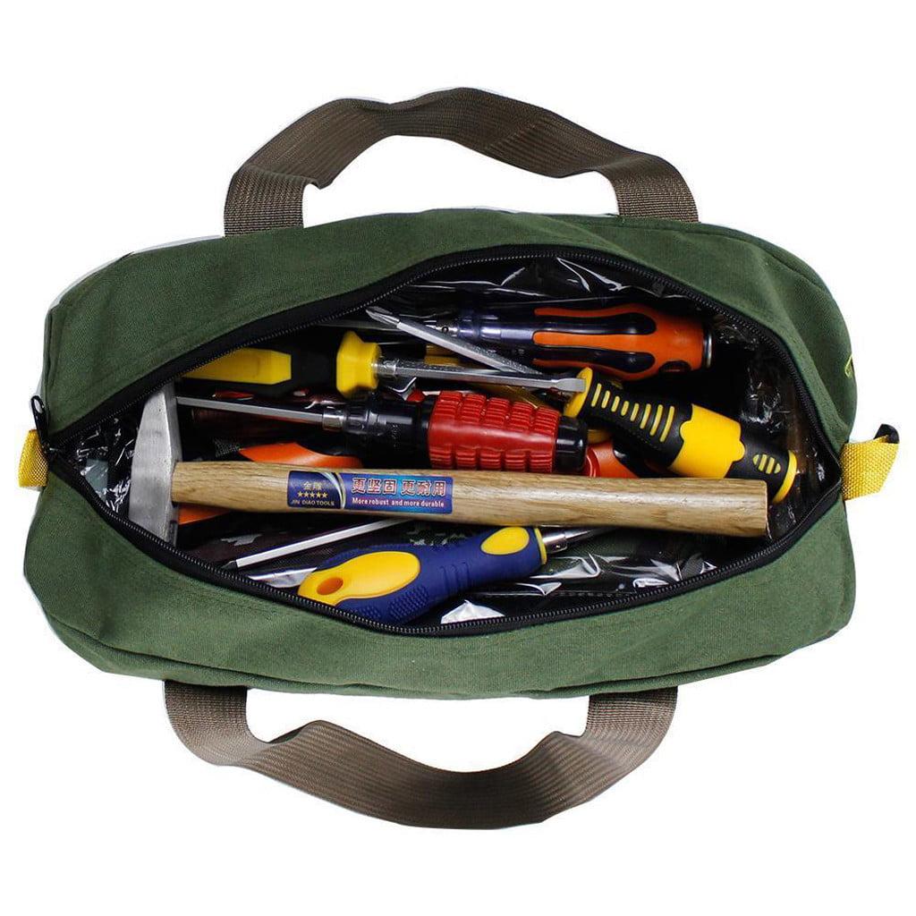 Mechanics Tool Bag Canvas Multi-function Storage Hand Tool Bag Portable Tool ,