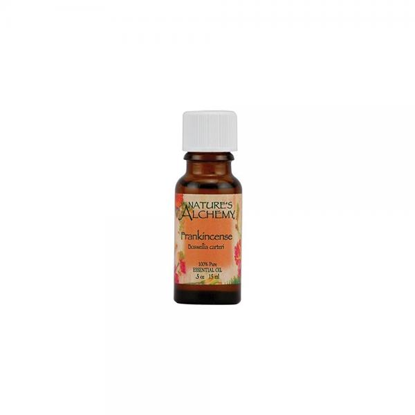 Nature's Alchemy 100% Pure Essential Oil, Frankincense 0.5 oz