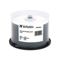 VERBATIM CD-R DL+ THERML 50pk 700MB/52X SPIN-WHT