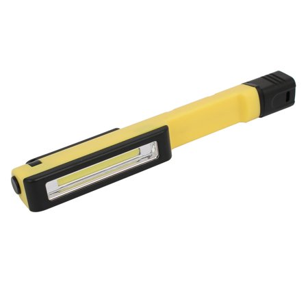 Outdoor Fishing Pen Light Magnetic Inspection Work Hand Lamp Tool Yellow