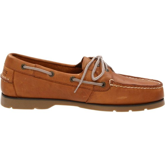 06c88fdd2c03 Sperry Top-Sider Men's Leeward 2-Eye Boat Shoe, Sahara, 9 Wide US Comfort