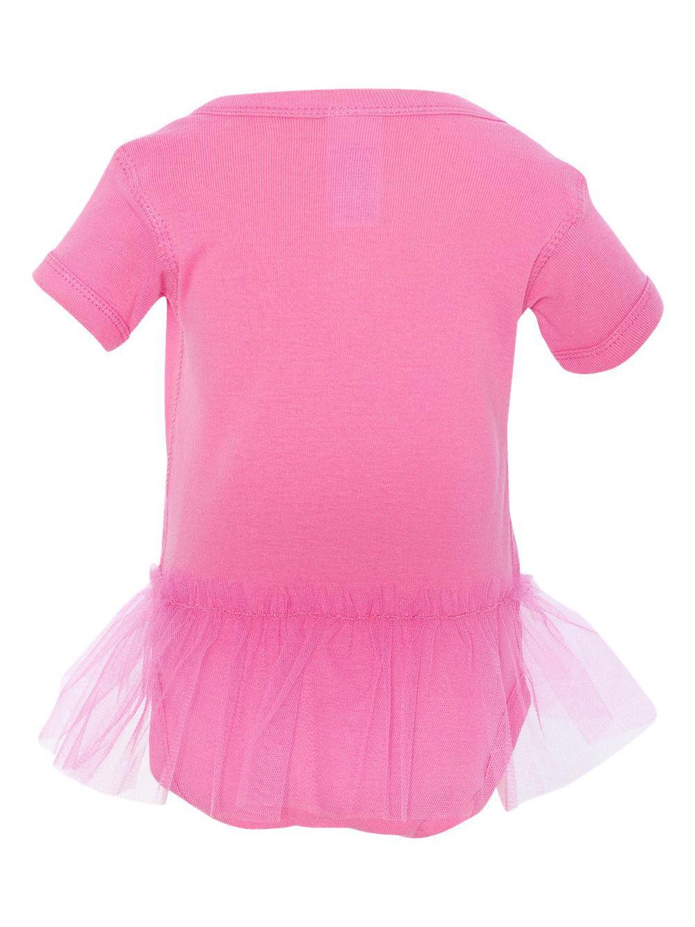 437b7fa6f8a3a Rabbit Skins - Rabbit Skins Infant Tutu Creeper Solid Onesie Girl's 4422 -  Walmart.com