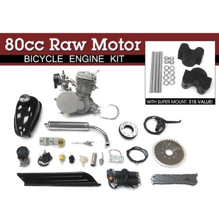 Plastic Motorbike Kit (80cc Raw Motor Bicycle 2 Stroke Engine Kit )