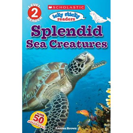 Icky Sticky Readers: Splendid Sea Creatures - Sea Creature Drawings