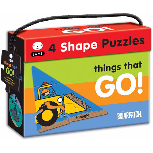 SAMi 4 Shape Puzzles Things That Go!