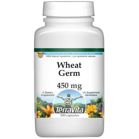 Wheat Germ Protein - Wheat Germ - 450 mg (100 capsules, ZIN: 521620)