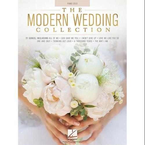 Hal Leonard The Modern Wedding Collection-Piano Solo Songbook