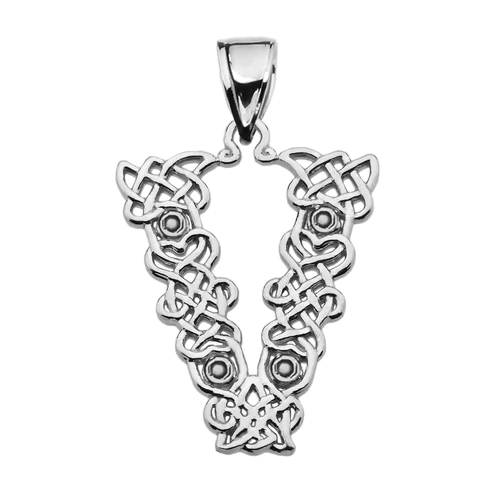 Details about  /Sterling Silver Initial V Pendant