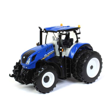 New Holland T7.315 Tractor w/ Dual Wheels - SpecCast 1:64 Blue ZJD1832