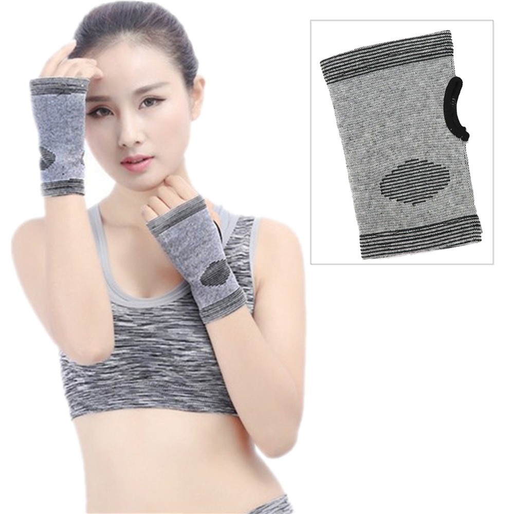 DZT1968 Carpal Tunnel Wrist Support Bamboo Charcoal Technology Wrist Strap Palm Care