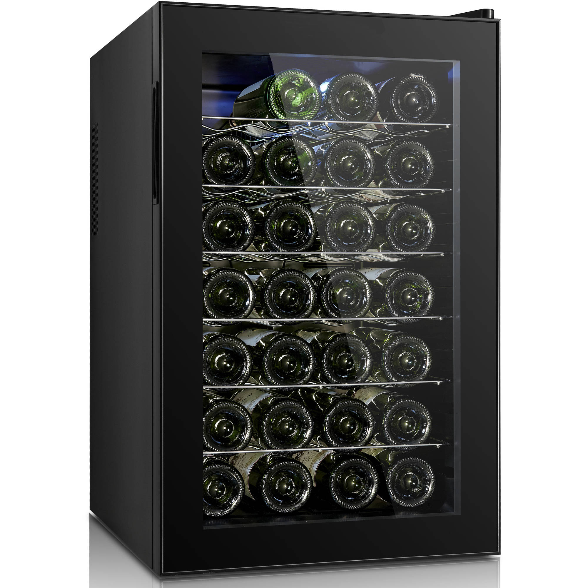 Igloo Quiet 28-Bottle Wine Cooler with Mechanical Temperature Control