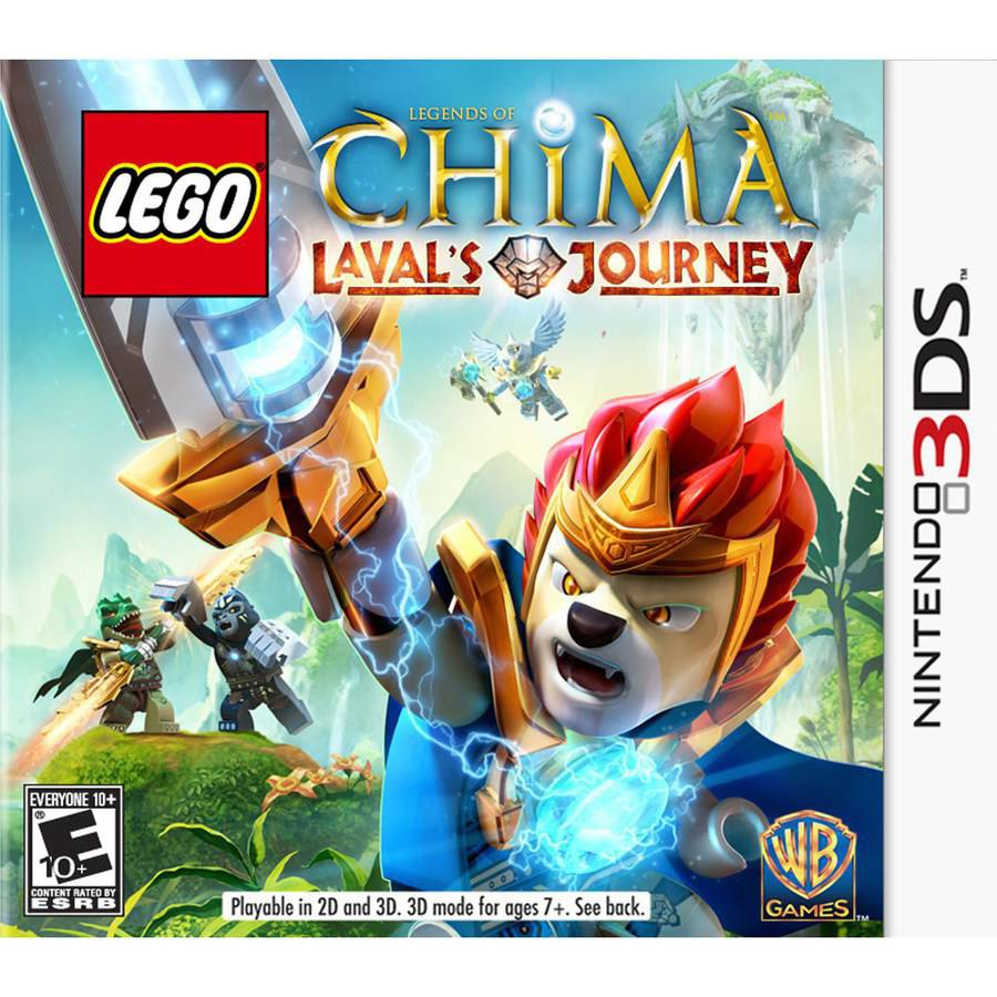 LEGO Legends of Chima: Laval's Journey, Warner Bros, Nintendo 3DS, 883929319626