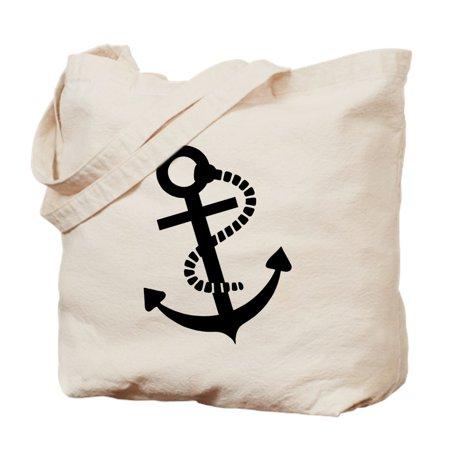 Anchor Bag - Anchor Ship Boat - Natural Canvas Tote Bag, Cloth Shopping Bag