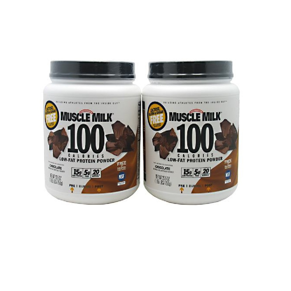 CytoSport Muscle Milk 100 Calories 2-pack Chocolate - 1.65 lb (750g)
