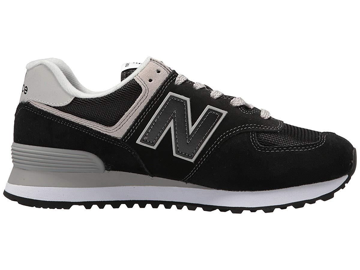 New Balance - New Balance Classics WL574v2 Black/White - Walmart.com