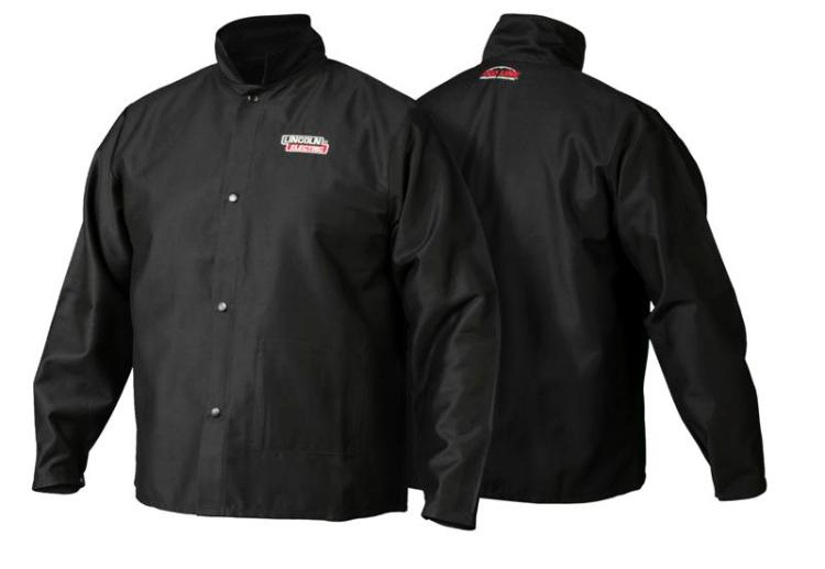 Lincoln Electric K2985 Traditional FR Cloth Welding Jacket, Medium by Lincoln Electric