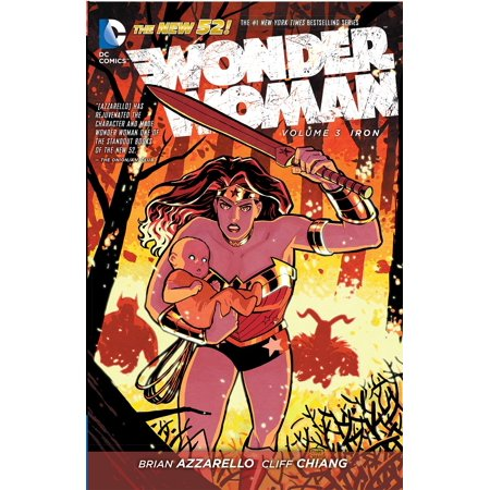 Wonder Woman Vol. 3: Iron (The New 52) (Wonder Woman Best Graphic Novels)