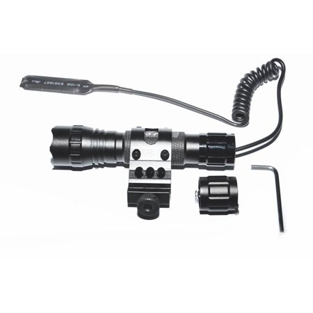 LMJ-CN® flashlight cree xm-l t6 Led1000 lm 3-18V 1 LightTactical switch with